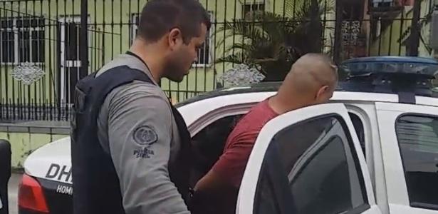 24.set.2018 - Miliciano é preso na Operação Gerais, na região metropolitana do Rio - Polícia Civil/Reprodução