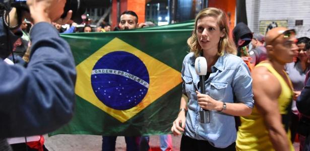 Jornalista holandesa cobriu atos em comemoração à vitória de Bolsonaro na av. Paulista