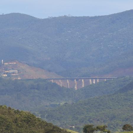 Vista geral do entorno da barragem Sul Superior, em Barão de Cocais - Ramon Bitencourt/O Tempo/Estadão Conteúdo