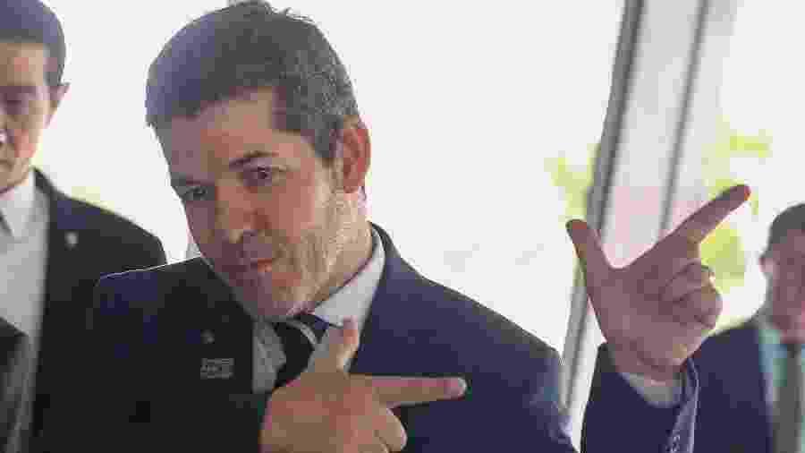 O líder do PSL na Câmara, deputado Delegado Waldir - Pedro Ladeira/Folhapress
