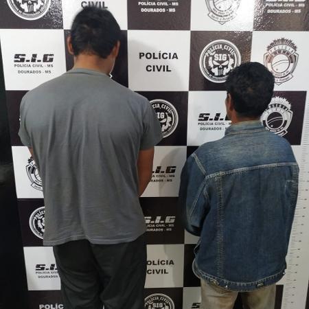 12.jun.2019 - Suspeitos de matarem homem e estuprarem mulher em Dourados (MS) - Divulgação/Polícia Civil MS