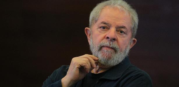 O ex-presidente Luiz Inácio Lula da Silva, em foto de 2016, durante reunião em SP com as bancadas do PT