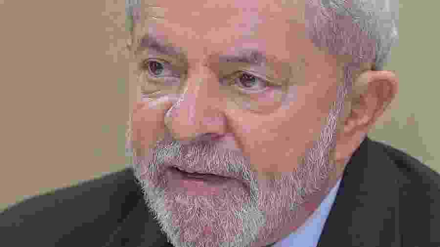 16.out.2019 - Ex-presidente Lula concede entrevista ao UOL em Curitiba - Ricardo Stuckert/Instituto Lula