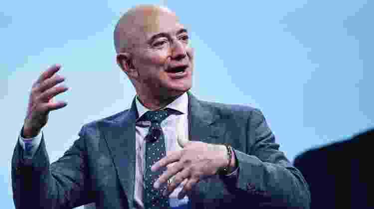 O jornal Washington Post é um investimento pessoal de Jeff Bezos, e não da Amazon - AFP - AFP
