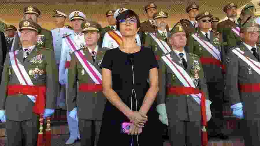 María Gámez é a primeira mulher a comandar a Guarda Civil da Espanha na história - Reprodução/Twitter