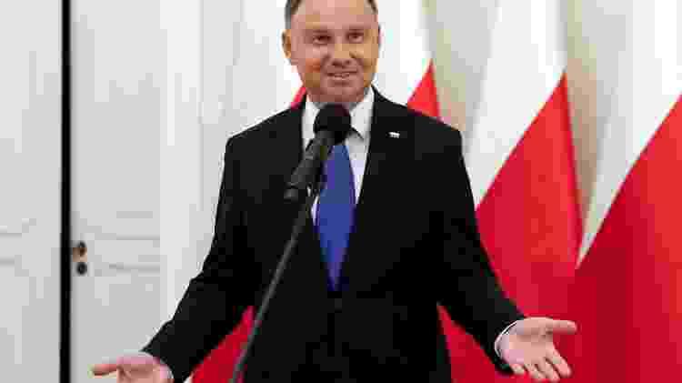 Andrzej Duda, presidente da Polônia eleito para segundo mandato com plataforma homofóbica - Reprodução - Reprodução