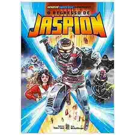 O Regresso de Jaspion (Fábio Yabu e Michel Borges) - JBC - Reprodução/Amazon - Reprodução/Amazon