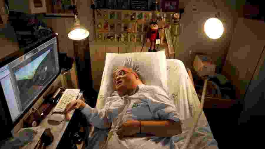 O paciente Paulo Henrique Machado morou por 51 anos no Hospital das Clínicas, em SP - Joel Silva/ Folhapress