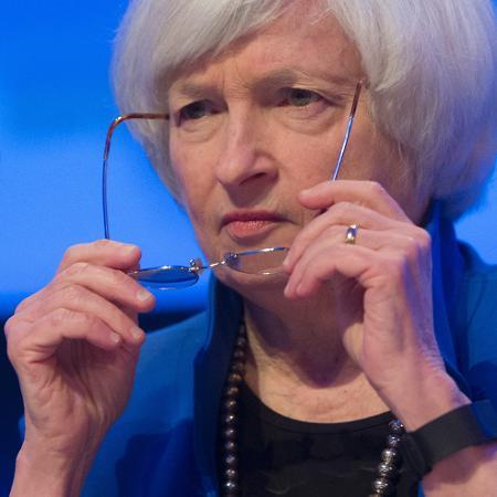 Yellen defendeu que salário mínino suba para US$ 15 por hora - Saul Loeb/AFP