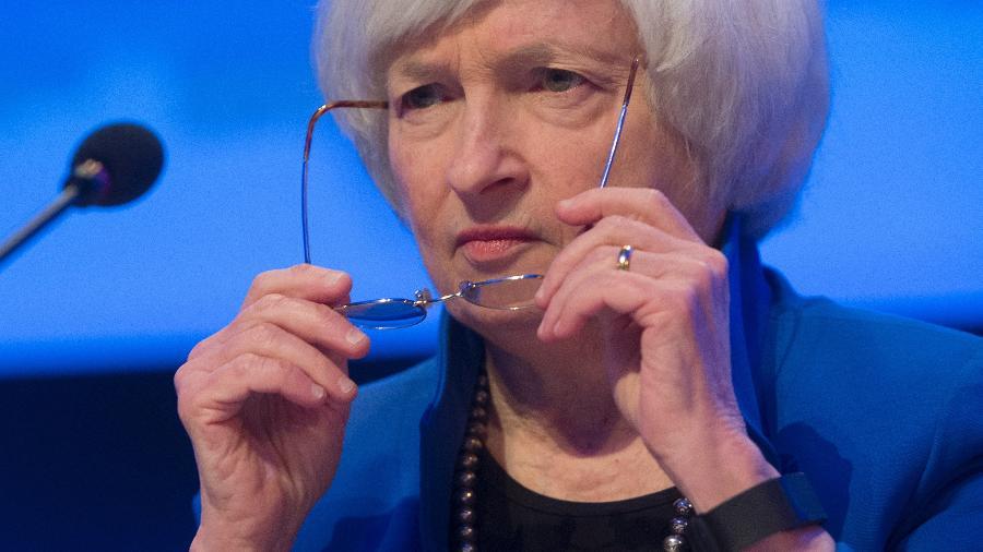 Secretária do Tesouro dos EUA sugere alta de imposto de empresas para 28% para aumentar receita dos EUA - Saul Loeb/AFP