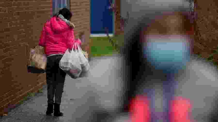 A taxa de pobreza dos EUA aumentou nos últimos cinco meses - Getty Images