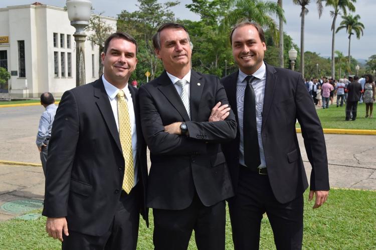 Família Bolsonaro - Flick Bolsonaro/Reprodução - Flick Bolsonaro/Reprodução