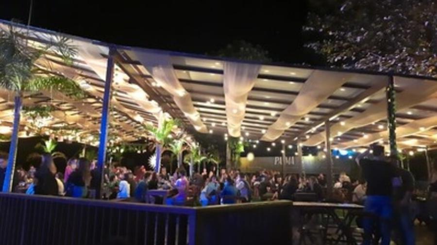 A Seop conseguiu interromper uma festa irregular com cerca de 1,5 mil pessoas - Divulgação / Seop / Prefeitura do Rio de Janeiro