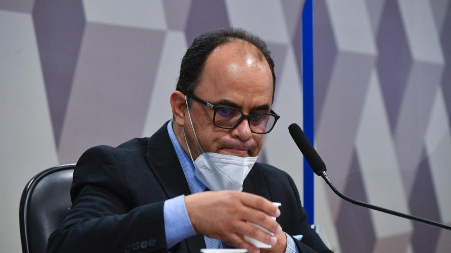 Reverendo Amilton Gomes de Paula em depoimento à CPI da Covid - Leopoldo Silva/Leopoldo Silva/Agência Senado