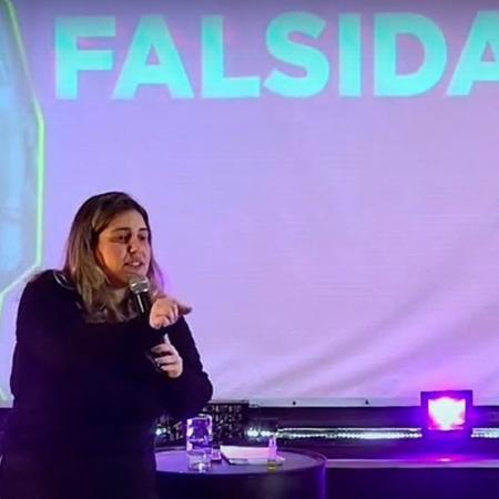 Karla Cordeiro, líder religiosa da Igreja Sara Nossa Terra no RJ - Reprodução