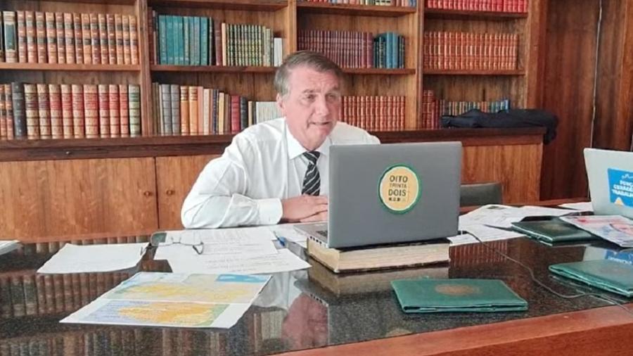Bolsonaro também destacou como negativo para a inflação a questão da atual crise hidrológica - Reprodução/Facebook