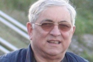 O aposentado britânico Karl Andree, 74