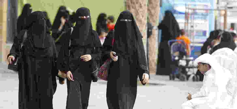 As mulheres que protestavam por seus direitos nas ruas de Riad foram presas, segundo autoridades do país e a Human Rights Watch - Efe
