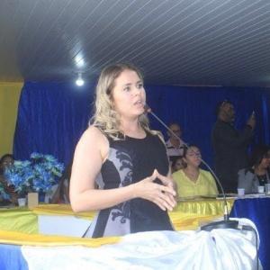 A prefeita de Bom Jardim (MA), Lidiane Leite da Silva (sem partido)