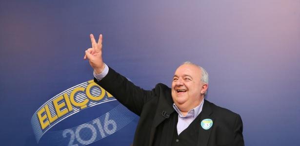 Rafael Greca (PMN), prefeito eleito de Curitiba