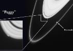 Sonda tenta desvendar mistério de minilua embutida em anel de Saturno (Foto: Nasa)