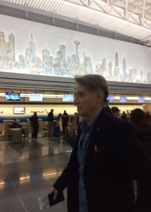 Eike Batista é fotografado em aeroporto de Nova York