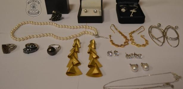 PF do Rio realizou operação para apreender joias e bens de Adriana Ancelmo - Divulgação/Polícia Federal