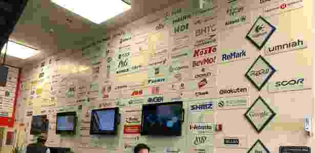 Algumas das várias empresas que mantém relações com a aceleradora - Gabriel Francisco Ribeiro/UOL - Gabriel Francisco Ribeiro/UOL