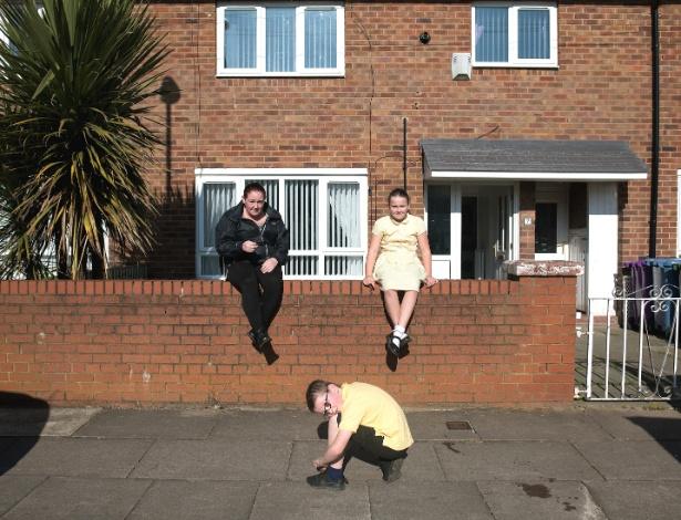 A família Wilde vive em um bairro pobre da região de Liverpool