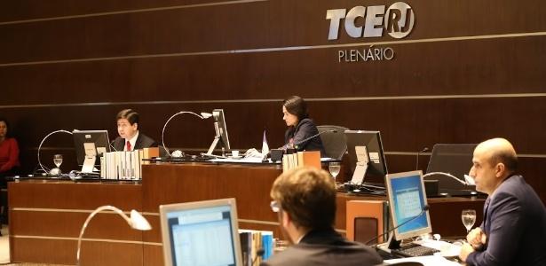 Em 30 de maio, por unanimidade e pelo 2º ano consecutivo, conselheiros do TCE-RJ rejeitaram as contas do governo Pezão - Rosangela Tozzi/TCE-RJ
