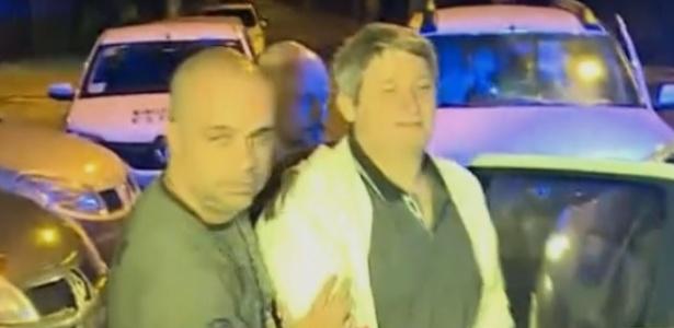 Segundo a polícia, Paulo Maurício Pereira foi quem disparou contra Karina - Reprodução TV Globo