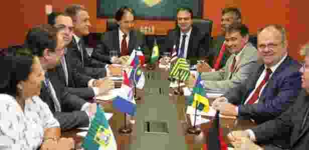 Reunião entre governadores e futuros governadores do Nordeste - André Oliveira/Divulgação