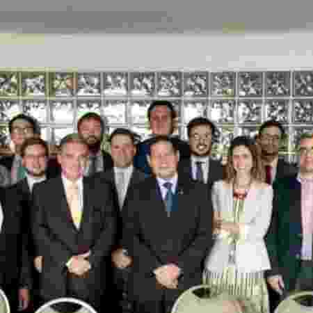 14.dez.2018 - General Mourão em evento com investidores em Brasília - Divulgação - Divulgação