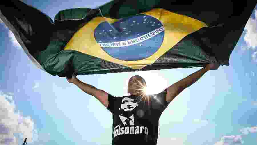 O deputado estadual Douglas Garcia (PSL) - Zanone Fraissat