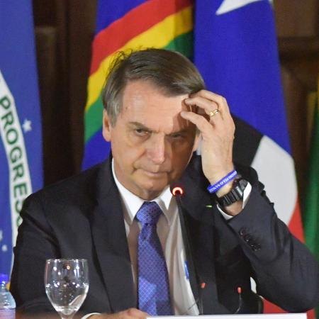 24.mai.2019 - Jair Bolsonaro, no Recife - Chico Peixoto/LeiaJá Imagens/Estadão Conteúdo