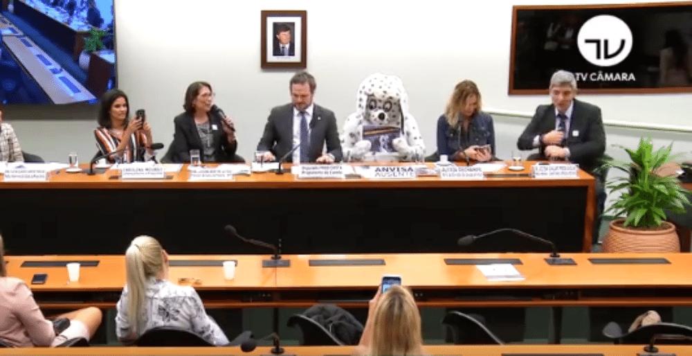 Resultado de imagem para Homem vestido de Dálmata rouba a cena em comissão na Câmara