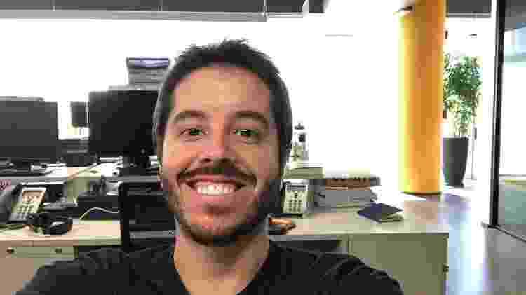 FaceApp - filtro que cria barba - Gabriel Francisco Ribeiro/UOL