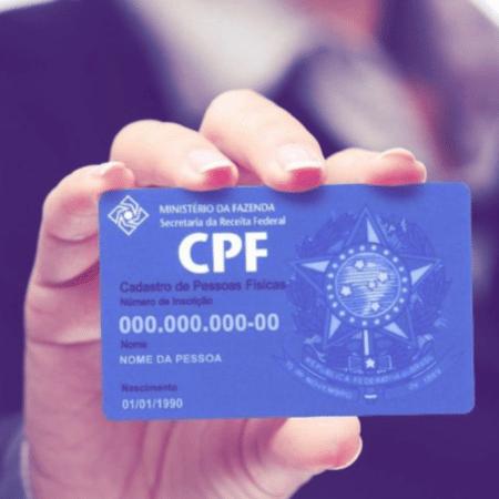 Foram atendidos mais de 90 mil solicitações de regularização de CPF - ARTE/UOL