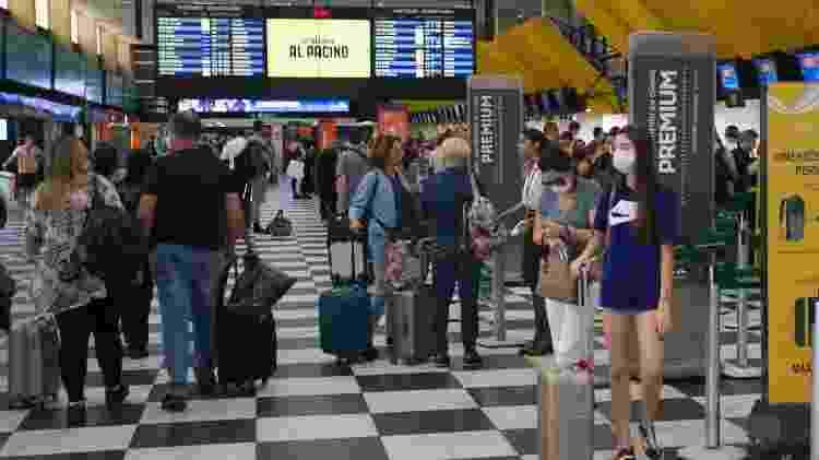 Coronavírus: Vista do saguão de check-in do Aeroporto de Congonhas, na zona sul da cidade de São Paulo - Mister Shadow/Asi/Estadão Conteúdo - Mister Shadow/Asi/Estadão Conteúdo
