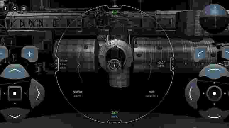 Simulador online da SpaceX mostra como é a sensação de controlar nave espacial - Reprodução - Reprodução