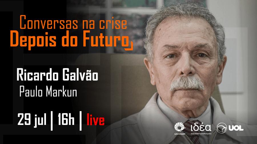 Conversas na Crise com Ricardo Galvão (29/07) - Arte/IdEA-Unicamp