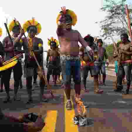 Líderes indígenas pedem demissão de diretora da Funai - JOÃO LAET / AFP