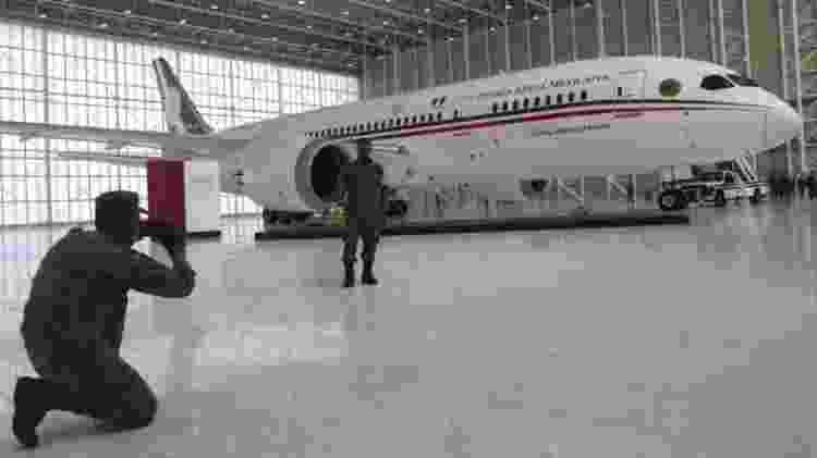 Sorteio não envolveu a aeronave em si, que ainda precisará encontrar um destino - Reuters - Reuters