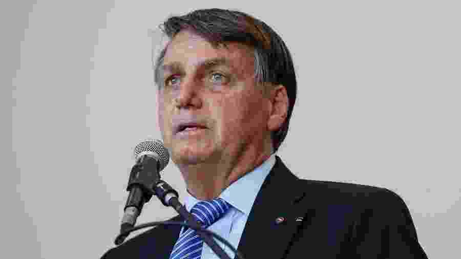O presidente Jair Bolsonaro  - Carolina Antunes/PR