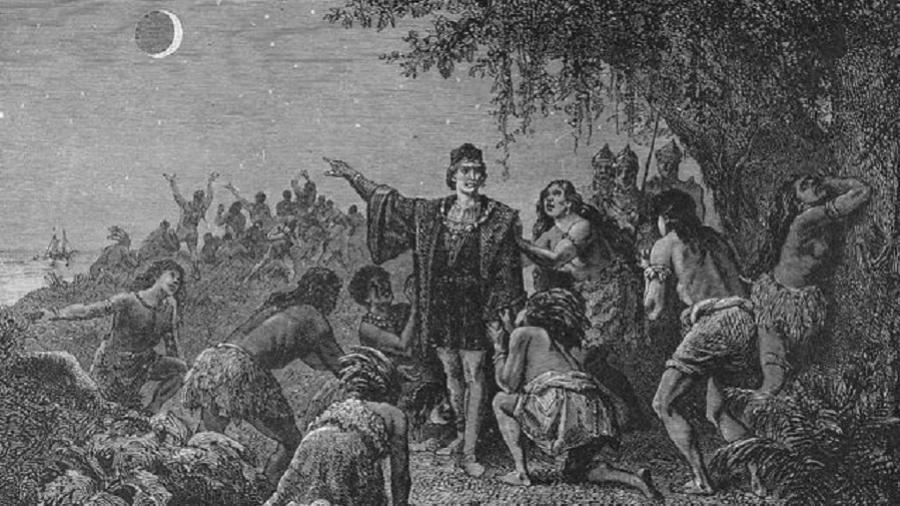 Houve um eclipse em 29 de fevereiro de 1504 e Colombo soube aproveitar dele para se salvar da fome - Getty Images