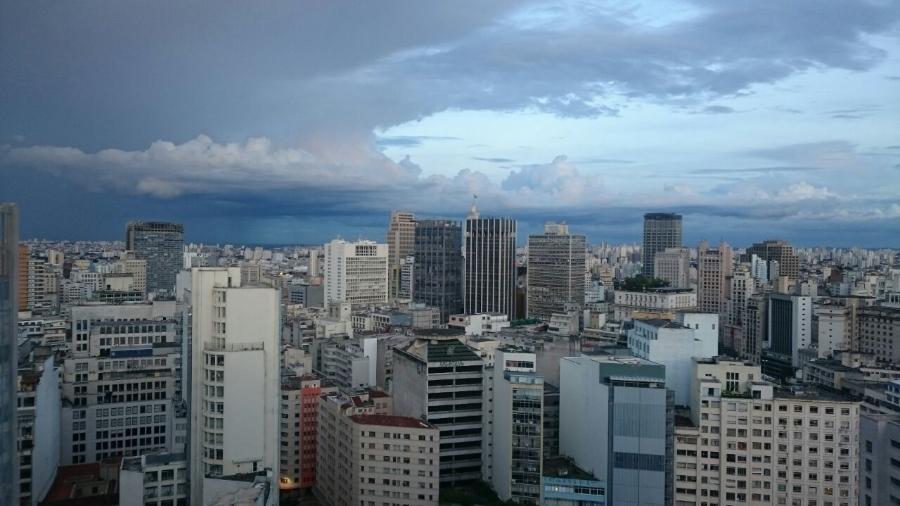 Vista do centro da cidade a partir da avenida São Luís - Marcelo Oliveira/UOL