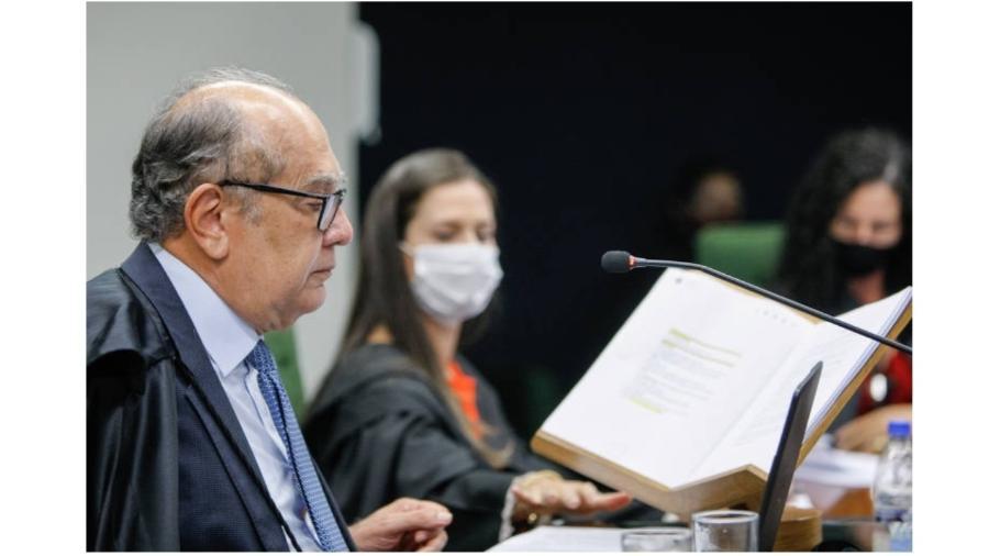 """Para relator, houve """"perseguição"""" a ministro do STF - Fellipe Sampaio/STF/09.fev.2021"""