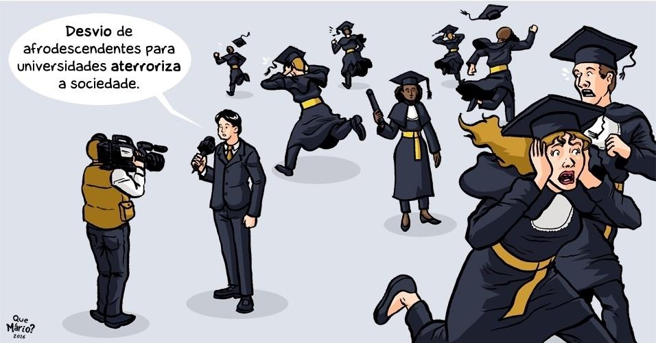 26.fev.2016 - Presença de minorias em universidades públicas intimida muita gente
