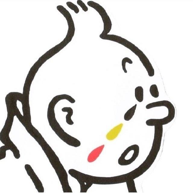 22.mar.2016 - No Twitter, os internautas começaram a compartilhar a imagem do personagem Tintim com três lágrimas nas cores da bandeira da Bélgica escorrendo no rosto