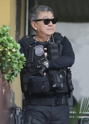 O agente federal Newton Ishii, conhecido como Japonês da Federal
